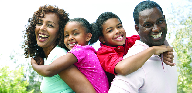Patient Center Photo of Happy Family